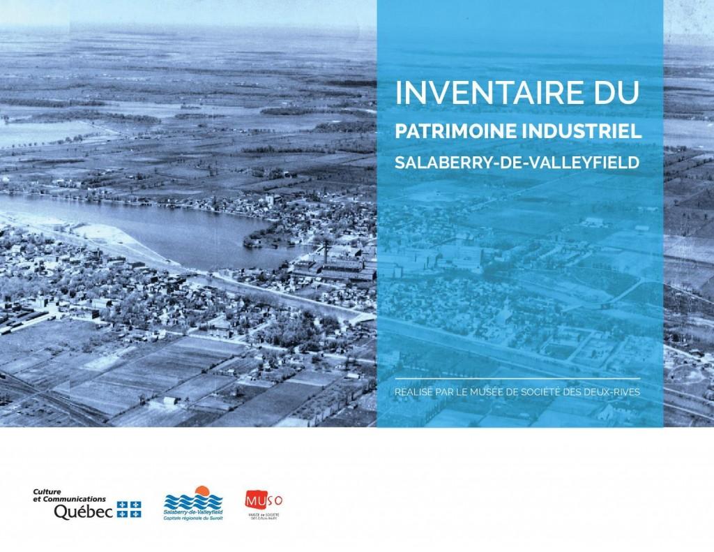 Page couverture_inventaire du patrimoine industriel de Salaberry-de-Valleyfield