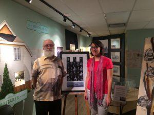 Isabelle Parson et Robert Grenier (ancien travailleur de la MoCo)
